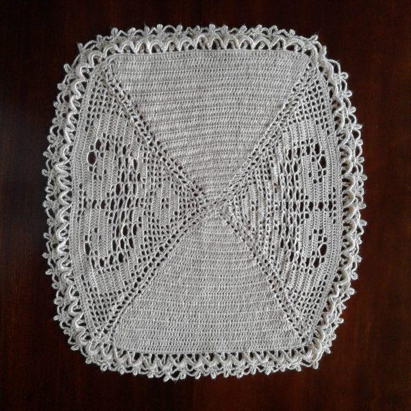 Filet Crochet Decoration / Filet Hekel Versiering