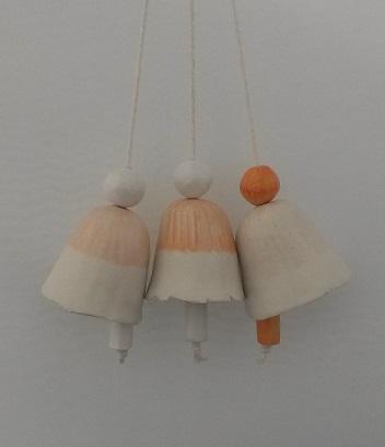 Small Porcelain Bells (Set)