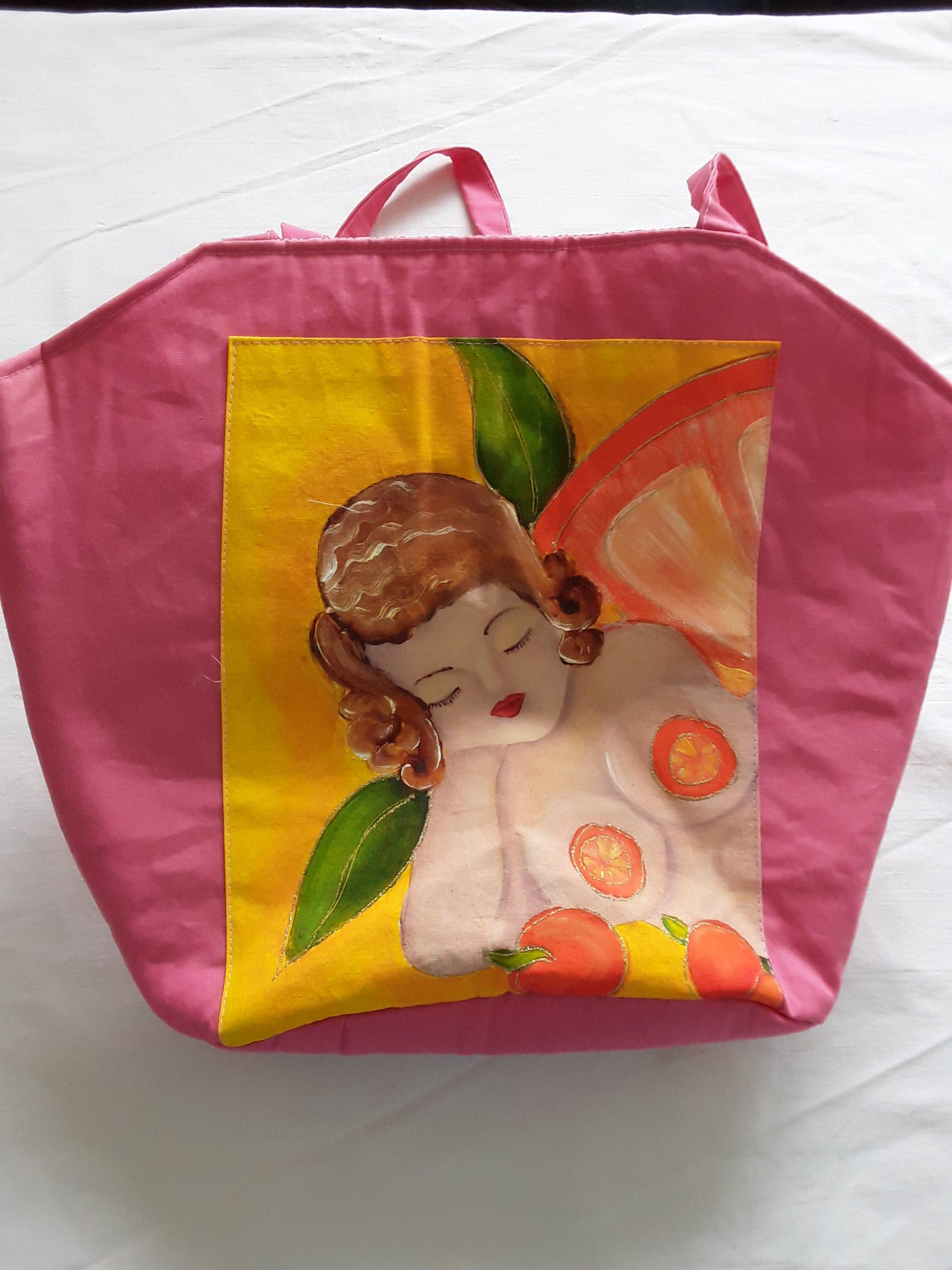 Beach and handbag